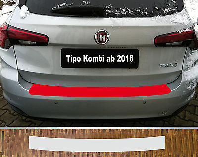 clear protective foil bumper protection transparent Fiat Tipo Estate from 2016