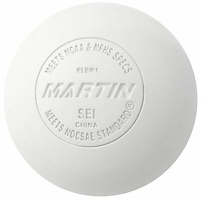 Martin Sports Lacrosse Balls, Meets NOCSAE and NHFS Standards, SEI Certified, of