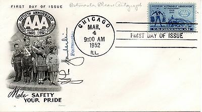 US FDC #1007 AAA, Signed By Postmaster, Fleetwood (4692)