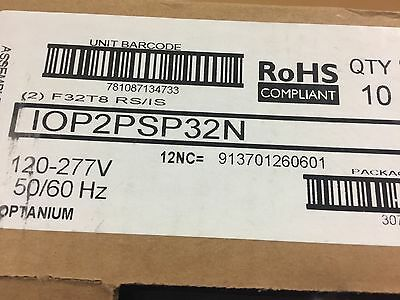 Lot of 10 Philips Advance IOP-2PSP32-N T-8 Ballasts