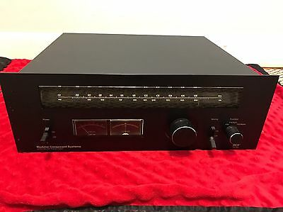 MCS 3701 AM FM Stereo Tuner Modular Component System