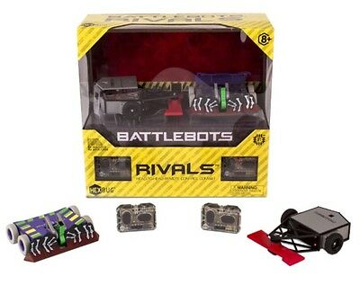 NEW!!! Hexbug Battlebots Rivals Twin-Pack Witch Doctor Tombstone