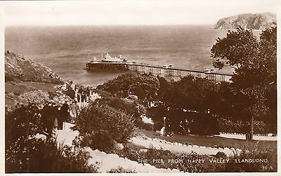 Postcard - Llandudno - The Pier from Happy Valley