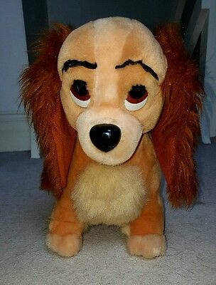 large lady from lady and the tramp plush