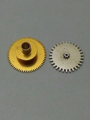 Vintage Breitling Cosmonaute 806 24h hourwheel 251 and 263 nos part Venus 178