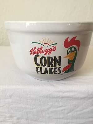Kellogg's Corn Flakes Cereal Bowl Advertising Collectible