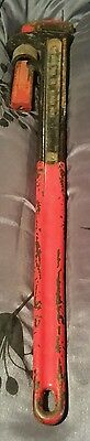 """Ridgid 36"""" Very Heavy Duty Pipe Wrench- Nice Working Condition! Free shipping"""