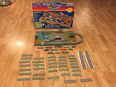 Micro Machines Power Train City + Extra Trains & Track