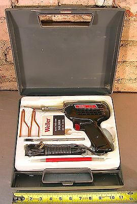 WELLER MODEL No. D550, 240W/325W, DUAL HEAT SOLDERING GUN KIT WITH CASE