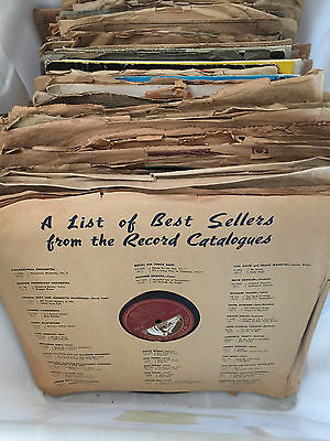 """bulk 78""""s records for sale. Roughly 110 to 115 in total."""