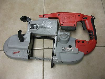 Milwaukee 0729-20 M28 28V-Volt lithium wireless cutting Metal Band Saw