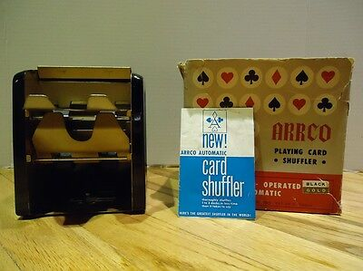 Vintage 1960's ARRCO Automatic Playing Card Shuffler