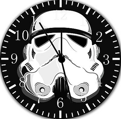 "Lego Starwars wall Clock 10/"" will be nice Gift and Room wall Decor X28"