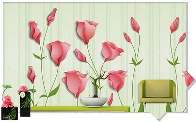 * Modern Simple Style Floral Pattern Background Living Room Bedroom WallPaper