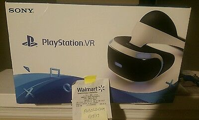 Sony PlayStation VR Core Bundle New!