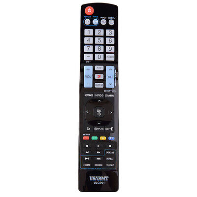 Universal Replacement Remote Control for LG LCD LED Smart HDTV TV