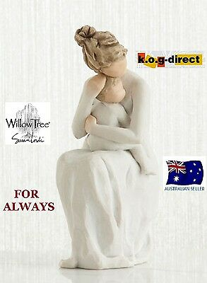 FOR ALWAYS Demdaco Willow Tree Figurine By Susan Lordi NEW IN BOX 2017 RELEASE