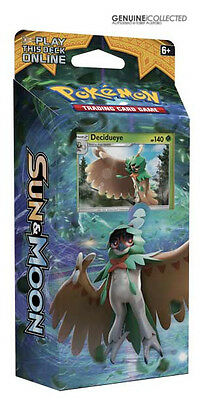 60-Card Decidueye Shadow Forest Pokemon Theme Deck Sun & Moon | Holo + more!