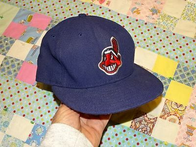 Cleveland Indians Chief Wahoo New Era MLB Authentic Baseball Cap Official On Fie