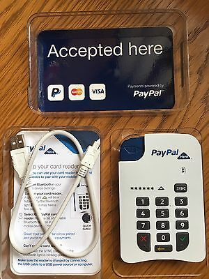 Paypal Card reader, not tap & go, working , Excellent condition