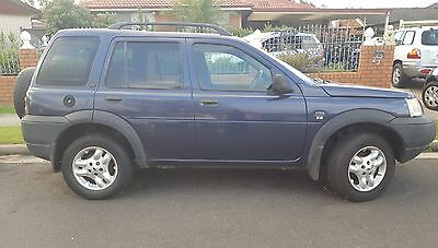 Wrecking Jeep Land Rover Freelander 2004 V6 Auto , PARTS ONLY.