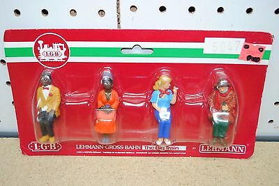 LGB 5047 Seated Travelers/Passengers (Figures) *G-Scale* NEW #2