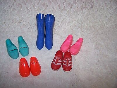 "vintage Shoe lot that fits Playmates Hearts 4 Hearts & similar 14"" Dolls"