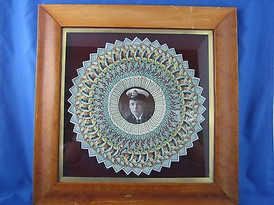 King Edward VIII Hero Cap Peacock Portrait 1 of a Kind Exceedingly RARE!!
