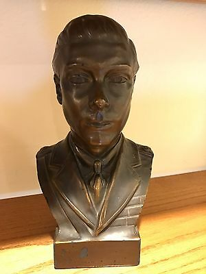 An Artstone Limited 1925 12x7 BUST of King Edward VIII RARE!!