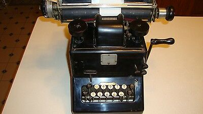 Antique Dalton Adding Listing Calculating Machine Complete for Decor Display