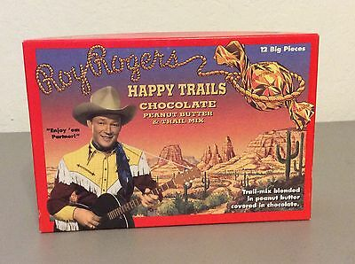 Vintage Roy Rogers Happy Trails Candy Box.