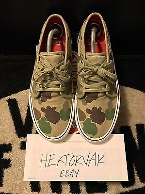 c6a5210ae3 SUPREME X VANS Duck Camo 106 Era Pro Authentic Vulcanized Size 10.5 ...