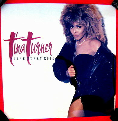 Tina Turner 1986 LIGHTBOX TRANSPARENCY UNUSED & MINT Break Every Rule
