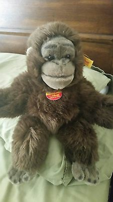 Steiff Baby Gorilla Hango, Made in Germany.
