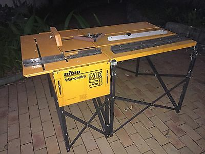 Triton Saw Table + Extension Table