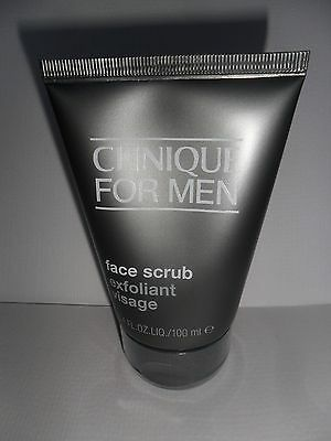 Clinique For Men Face Scrub 100Ml,  Brand New & Sealed