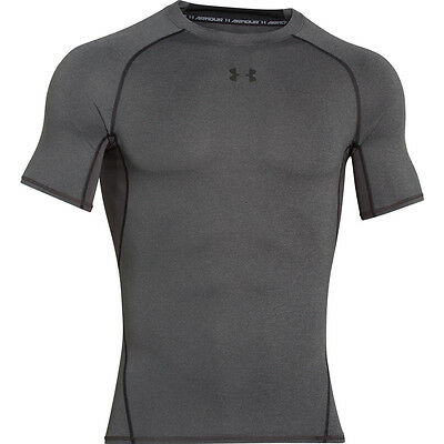 UNDER ARMOUR 1257468 HG Compression Armour Shortsleeve Tee Shirt 090 - M