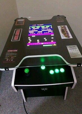 Cocktail Arcade Machine with 60 games, Led buttons Free shipping Australia wide!