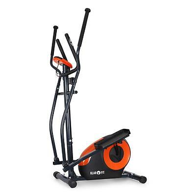 Cross-Trainer Fitness Machine Exercise 8 Programmes Work Out Home Gym Rollers