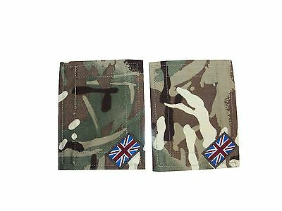 MTP CAMOUFLAGE BLANKING PATCHES With Union Jacks - British Army - Brand NEW