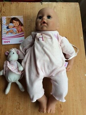 Zapf Baby Annabell Interactive Doll with toy sheep