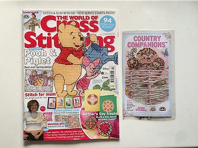 The World Of Cross Stitching Magazine With Kit Issue 135