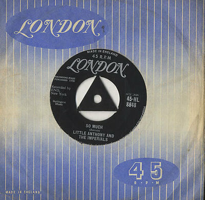 """Little Anthony And The Imperials So Much 7"""" vinyl single record UK 45-HL8848"""