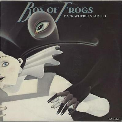 "Box Of Frogs 12"" vinyl single record (Maxi) Back Where I Started UK TA4562"