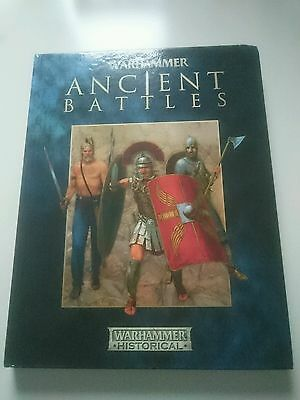 warhammer ancient battles hardback second edition on great condition