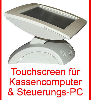 "30,48cm 12"" TFT KASSENMONITOR TOUCHSCREEN POS PREH KASSENDISPLAY 3M TOUCH GLAS"