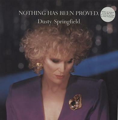 """Dusty Springfield Nothing Has Been Proved UK 12"""" vinyl single record (Maxi)"""
