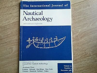 Journal NAUTICAL ARCHAEOLOGY and Unterwater Exploration Vol.14 Nov.1985