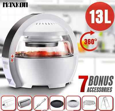 13L LCD Digital Space Explorer Inspired Low Fat Oil free Air Fryer Oven Cooker