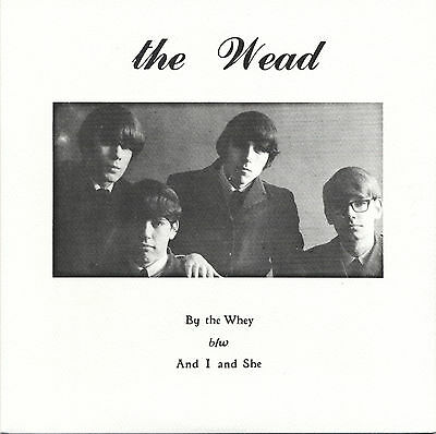 "THE WEAD By The Whey vinyl 7"" NEW unreleased 1966 garage punk KILLERS!!!!"